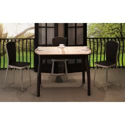 Столы со стеклом серии Гамма