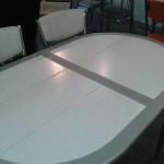 Овальный стол Будапешт-О с плиткой