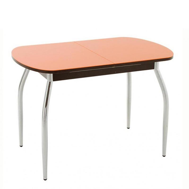 Стол Портофино-1 со стеклом