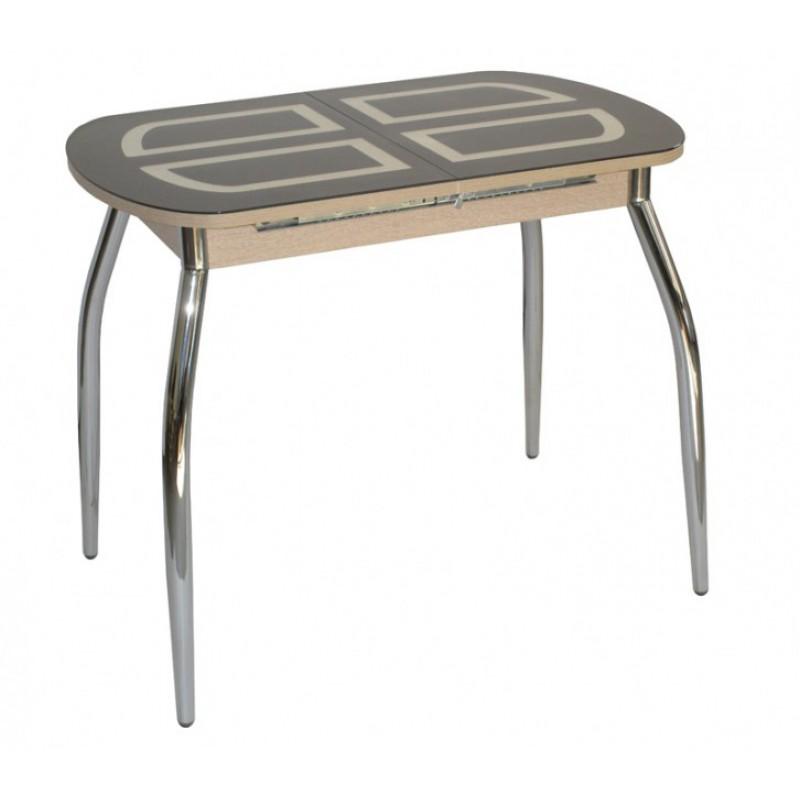 Стол Портофино-мини со стеклом