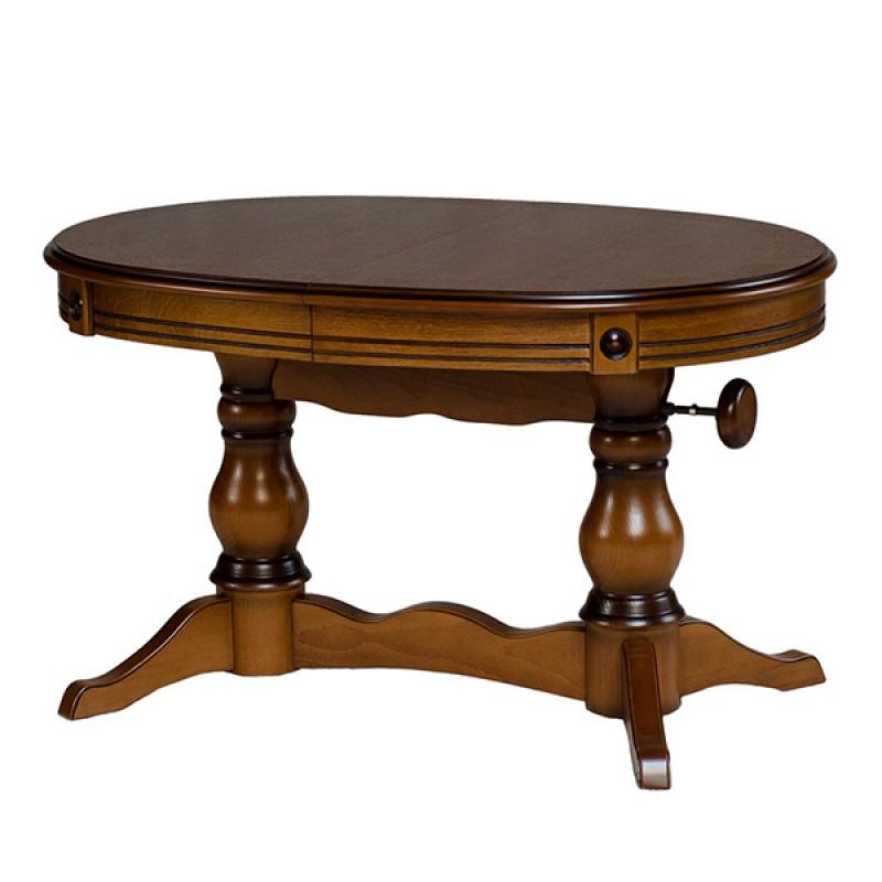 Обеденный стол - трансформер Мольто двухшпоновый