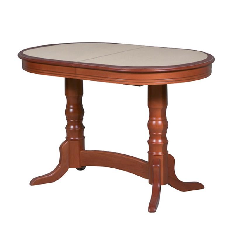 Обеденный стол Гамма с камнем