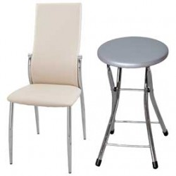 Недорогие стулья на металлокаркасе