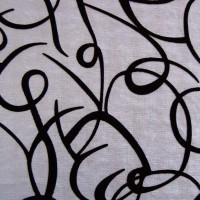 Ткань узор Серебро М1