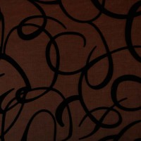 Ткань узор Темное Золото М5