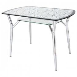 Современные стеклянные столы