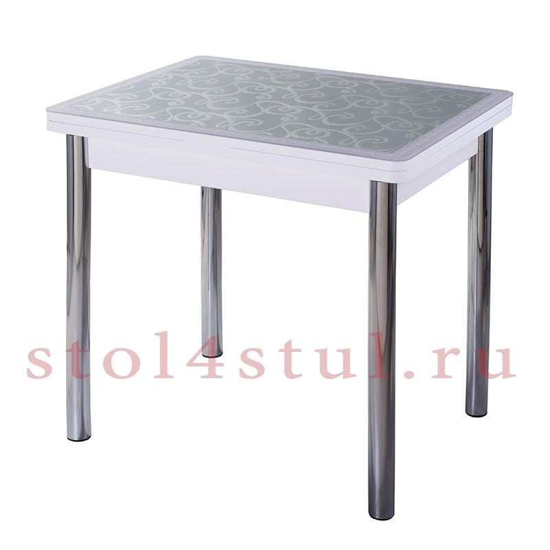 Стол Чинзано М2 кожзам со стеклом