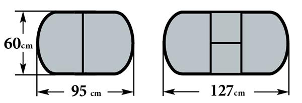 Размеры стола Будапешт-мини