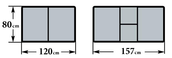 Размер стола  80х120(157) см прямоугольный