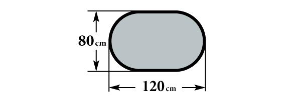 Размер стола А6О и А7О 80х120