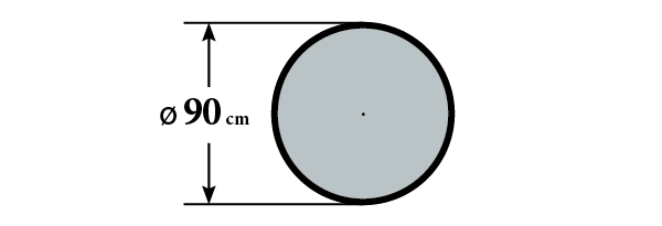 Размер стола А7К и А6К