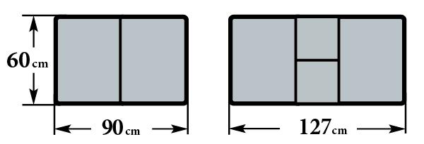 Размер стола Чинзано М, Аликанте М, Толедо М и Толедо М МЗ