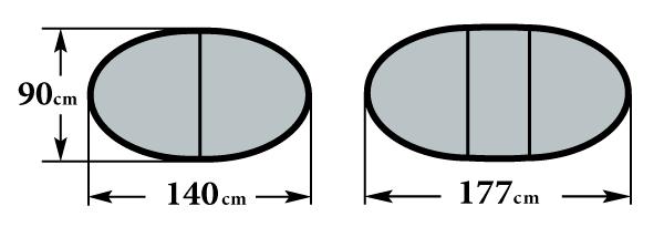 Размер стола Фиеро 90х140(177)