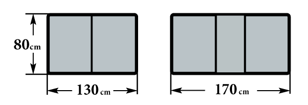Размер стола Граве Б 80х130(170)х76