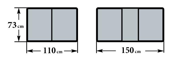 Размер стола Граве  73х110(150)х76
