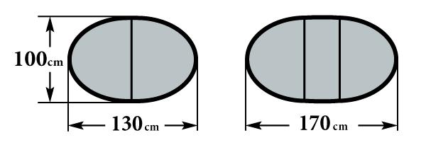 Размер стола Мартеле 2 вкладыша 100х130(170)