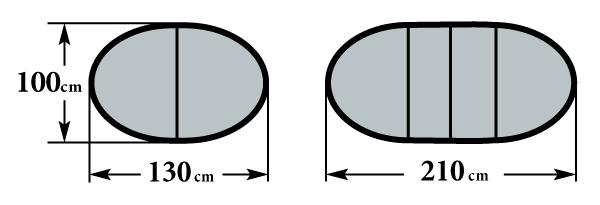 Размер стола Мартеле 2 вкладыша 100х130(210)
