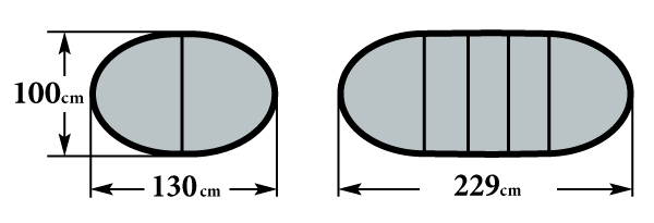 Размер стола Мартеле 3 вкладыша 100х130(229)
