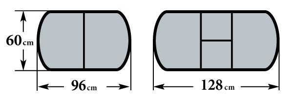 Размер Пешта-1 ПО 60х96 (128) см