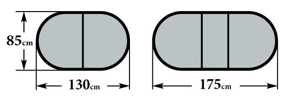 Размер стола Кварта и Кварта с камнем